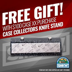 FREE! Case Magnetic Knife Stand with $100 Case purchase. Limit (1) per order while supplies last. Offer expires 12/31/20.