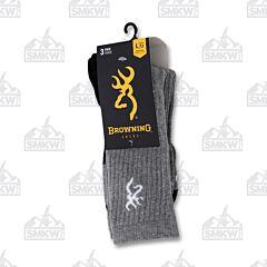 Browning Socks 3 Pack Large