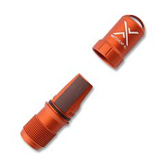 Exotac Orange Machcap XL Match Case and Striker