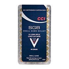 CCI SGB 22 LR 40 Grain Lead Flat Nose 50 Rounds