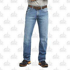 Ariat Rebar M4 Relaxed Durastretch Blue Haze Boot Cut Jeans