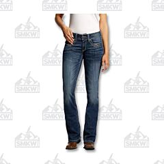 Ariat R.E.A.L Mid Rise Boot Cut Jean Regular