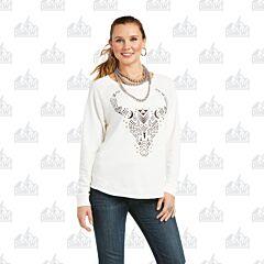 Ariat Women's Getter Done Burnout Sweatshirt
