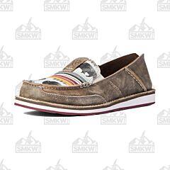 Ariat Women's Cruiser Taupe/ Buffalo Shoe