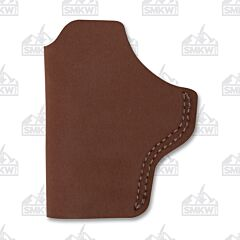 BIANCHI Model 6 Right Hand Carry Brown Leather Holster Size 15
