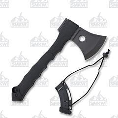 Schrade Mini Axe and Saw Combo Stainless Steel Blades Composition Handle