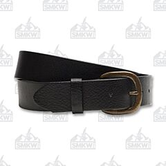 Justin Boots Men's Basic Work Belt Black