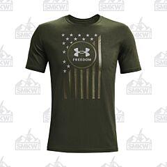Under Armour Men's Freedom Chest Flag Short Sleeve Shirt