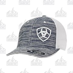 Ariat Heather Gray with White Logo Hat