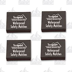 Texsport Waterproof Matches 4 Boxes