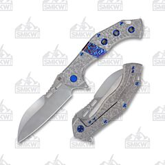Olamic Soloist Scout Frosty Entropic with Timascus Inlay