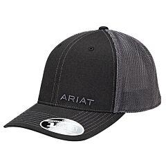 Ariat Men's Black Snap Closure Hat