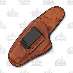 Bianchi Model 100 Professional IWB Tan Holster Left Hand Size 10 Colt Commander