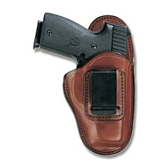 BIANCHI Model 100 Professional Right Hand Carry Tan Leather Holster Size 4