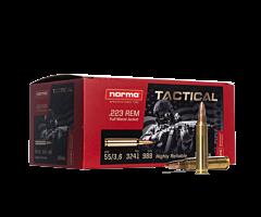 Norma Tactical Ammo .223 Remington 55 Grain FMJ 150 Rounds