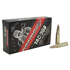 Norma USA TAC-308  308 Winchester 150 Grain Full Metal Jacket 20 Rounds
