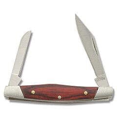 Pen Knife with Red Wood Handle