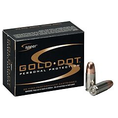 CCI Speer Gold Dot 45 ACP 230 Grain Gold Dot Hollow Point 20 Rounds