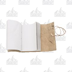 Scroll Style Leather Journal