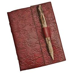 Leather Journal with Pencil
