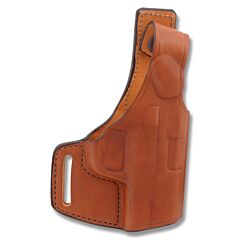 "Bianchi Model 75 Venom Belt Slide Holster S&W M&P 40/9mm/.40 3.5""-5"" BBL Tan Right Hand"