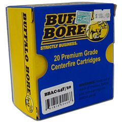 Buffalo Bore 9mm Luger +P 124 Grain Full Metal Jacket 20 Rounds