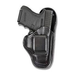 BIANCHI Model 100 Professional Right Hand Carry Black Leather Holster Size 10A