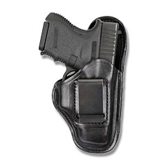 BIANCHI Model 100 Professional Right Hand Carry Black Leather Holster Size 21