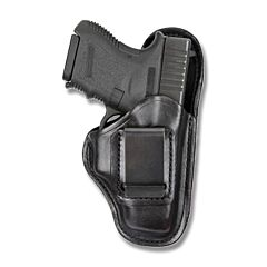 BIANCHI Model 100 Professional Right Hand Carry Black Leather Holster Size 13