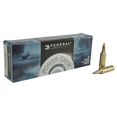 Federal Power-Shok 270 Winchester Short Magnum 130 Grain Soft Point 20 Rounds