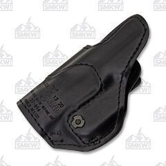 Safariland Inside-The-Pants J-Hook Holster Model 27 Right Hand Black Leather