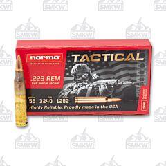 Norma 223 Remington 55 gr Full Metal Jacket 20 Round Box