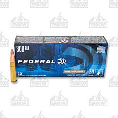 Federal Power-Shok 300 AAC Blackout 150 Grain Jacketed Soft Point 20 Rounds