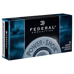Federal Power-Shok 300 Winchester Magnum Speer Hot-Cor Sp 20 Rounds
