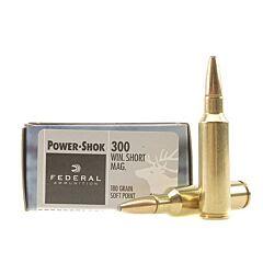 Federal Power-Shok 300 Winchester Shot Magnum 180 Grain Soft Point 20 Rounds