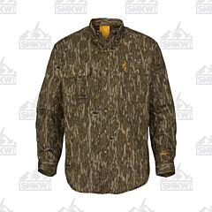 Browning Wasatch Long Sleeve T-Shirt Mossy Oak Bottomlands