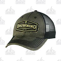 Browning Altus Black Trucker Cap