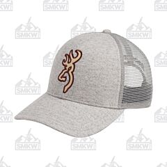 Browning Heather Gray Derby Cap