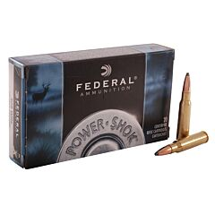 Federal Power-Shok 308 Winchester/7.62 NATO 150 Grain Soft Point 20 Rounds