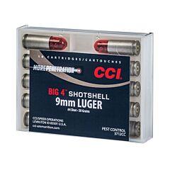 CCI 9mm Shotshell 45 Grain #4 Shot 10 Rounds