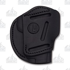 1791 Gunleather Stealth Black Three Way Multi-Fit Ambidextrous OWB Belt Holster Size 1