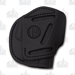 1791 Gunleather Stealth Black Three Way Multi-Fit Ambidextrous OWB Belt Holster Size 2