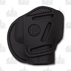 1791 Gunleather Stealth Black Three Way Multi-Fit Ambidextrous OWB Belt Holster Size 3