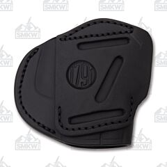1791 Gunleather Stealth Black Three Way Multi-Fit Ambidextrous OWB Belt Holster Size 4