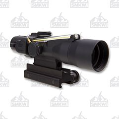 Trijicon ACOG 3x30mm Riflescope Dual Illuminated Amber Chevron