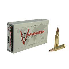 Nosler Varmageddon 308 Winchester 110 Grain Tipped Flat Base 20 Rounds