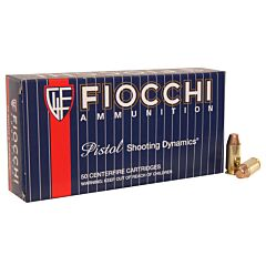 Fiocchi Shooting Dynamics 40 S&W 170 Grain Full Metal Jacket Truncated Cone 50 Rounds