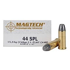 Magtech Cowboy Action 44 Special 240 Grain Lead Flat Nose 50 Rounds