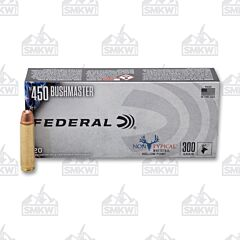 Federal Non-Typical 450 Bushmaster 300 Grain Hollow Point 20 Rounds