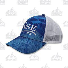 Case Logo Hat Realtree Wave Blue